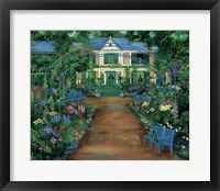 Framed French Garden