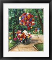 Framed Balloon Man