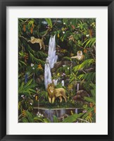 Framed Tropical Rainforest