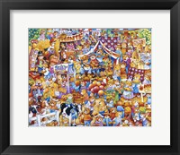 Framed Teddy Bear Fair