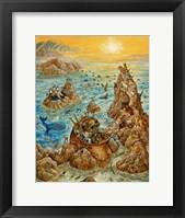 Framed Noah's Sun Day