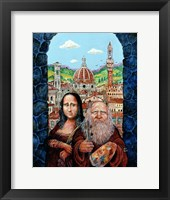 Framed Italian Gothic