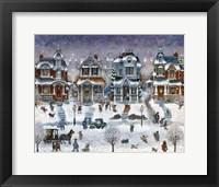 Framed Snow Day