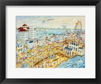 Framed Ocean City Summer
