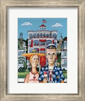 Framed Cape May Gothic