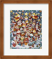 Framed Santa Claws