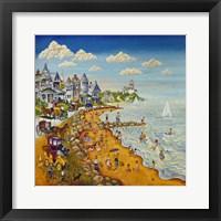 Framed Cape May Beach