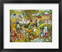 Framed Alice In Wonderland