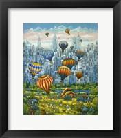 Framed Central Park Balloons