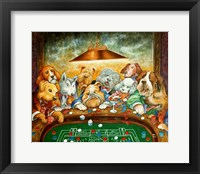 Framed Lucky Dogs