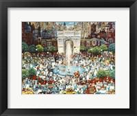 Framed Washington Square