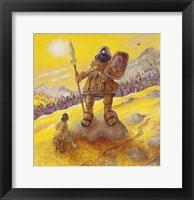 Framed David & Goliath