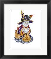 Framed Witch Cat