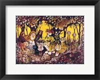 Framed Noah - Lions-Tigers-Bears