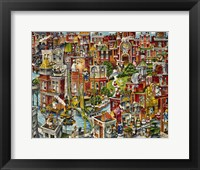 Framed Cat City