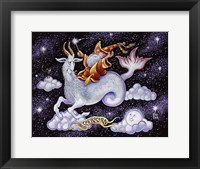 Framed Capricorn