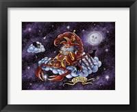 Framed Scorpio