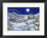Framed Winter Moon