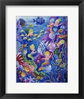 Framed Little Little Mermaid
