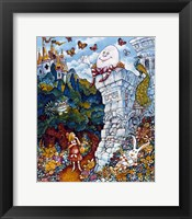 Framed Alice And Humpty Dumpty