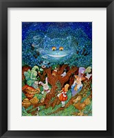 Framed Alice & The Cheshire Cat