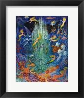 Framed Neptune & The Mermaids