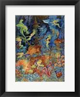 Framed Mermaids Of Atlantis