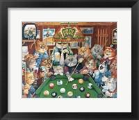 Framed Hustler ( Pool Cats )