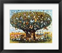 Framed Noah And The Birds