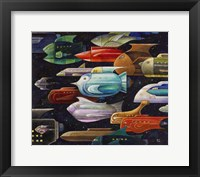 Framed Rocket Fish