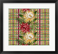 Framed Cereus Plaid Multi