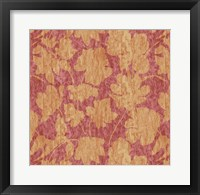 Framed Floral Waltz Mono Rose Gold