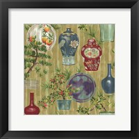 Framed Japanese Vases Neutral1