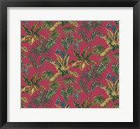 Framed Tropic Toile Tomato