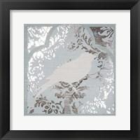 Framed Trellis Songbird I