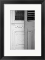 Framed French Quarter Architecture I