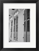 Framed French Quarter Architecture IV