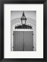 Framed French Quarter Architecture V