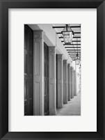 Framed French Quarter Architecture VI