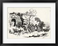 Framed Idyllic Landscape VI