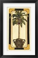 Framed Peaceful Palm I