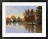 Framed Lake of Peaceful Dreams