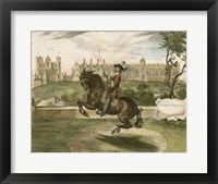 Framed English Horseman II