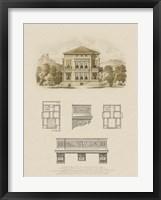 Framed Estate and Plan I