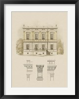 Framed Estate and Plan IV
