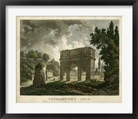 Framed Constantine's Arch