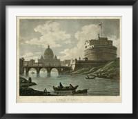 Framed Ponte St. Angelo