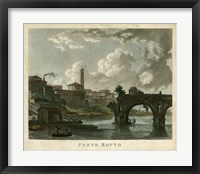 Framed Ponte Rotto