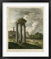 Framed Temple of Jupiter