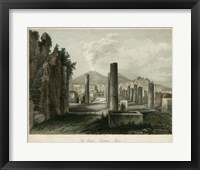 Framed Forum- Pompeii, Italy